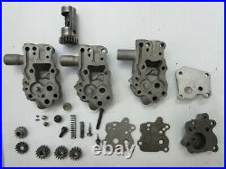 1941,'42 up Knucklehead Oil Pumps OEM, set of 3 and Parts