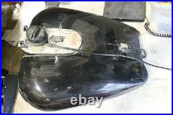 2001 Harley Davidson Road Glide FLTR Gas Tank Fuel Cell Pump Unit Black #2