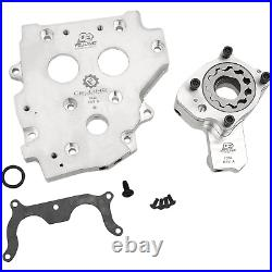 Feuling 7086 OE+ Oil Pump/Conversion Cam Plate Kit Harley-Davidson Road King
