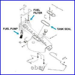 HFP-361HD EFI Intank Fuel Pump for Harley-Davidson +Strainer+Regulator+Filter