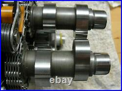 Harley 25937-99B Twin Cam SE-203 Camshafts 1999-2006 Assembly with Oil Pump EXC