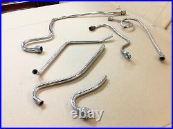 Harley Davidson Knucklehead Flathead Panhead Oil Pump Lines Fuel Crossover
