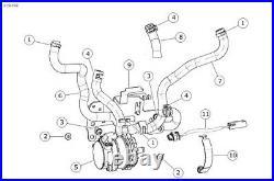 Harley-Davidson NEW! Cooling Pump Module Big Twin Touring Models P/n 26800107