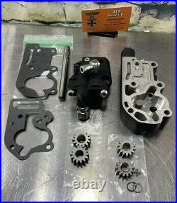 Harley Davidson Oil Pump Assembly #26219-92 Evo 92-99 Motors Black Nice J1oo