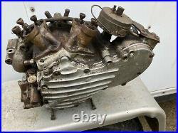 Harley Davidson knuckle head right crank case engine half oil pump distributer