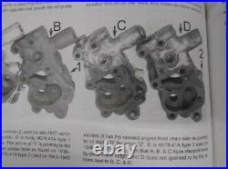 Harley Knucklehead Oil Pump OHV 1946-1947 Only OEM 678-41A TYPE 3 Knuckle EL FL