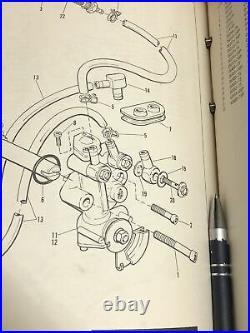 NOS Harley-Davidson Aermacchi Oil Pump SX 250 AMF Robison HD 26212-74