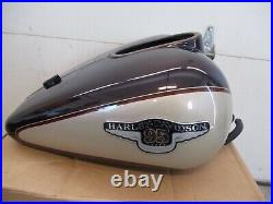 OEM HARLEY-DAVIDSON TOURING FLHTCUI 95TH ANNIVERSARY GAS TANK With FUEL PUMP 98