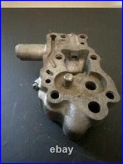 Original Harley Davidson Knucklehead Oil Pump Body OEM 66A