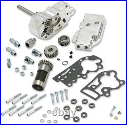 S&S Polished Oil Pump Gear Kit 54-77 Harley Davidson Shovelhead Panhead FL FX EL