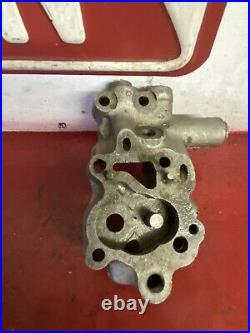 VIntage Harley Davidson OEM Knucklehead Motor Oil Pump Body 1941-47 3737
