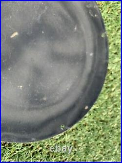 Vintage Harley Davidson Motor Dealer Porcelain Sign Gas Oil Service Pump Plate