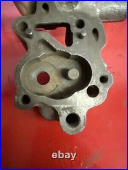 Vintage Harley Davidson OEM Knucklehead Motor Oil Pump Body Gear 1941-47 3878