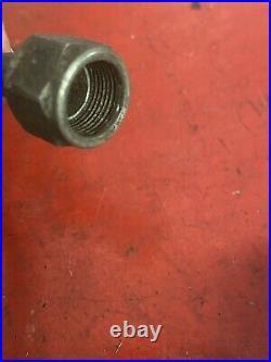 Vintage Harley OEM Knucklehead Panhead Motor Oil Tank Pump Return Line 3522